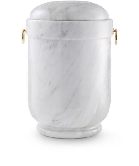 natuurstenen urn carrara marmer wit (102)