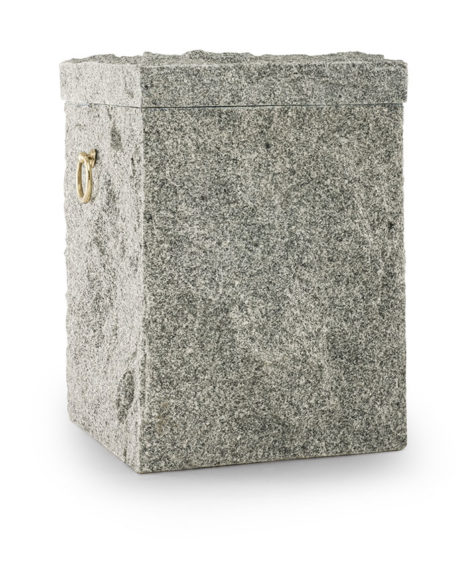 natuurstenen urn van kuppan green graniet (104grijs)