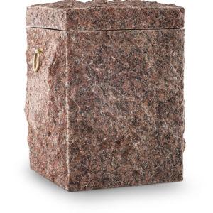 natuurstenen urn van graniet ruby red (104rood)