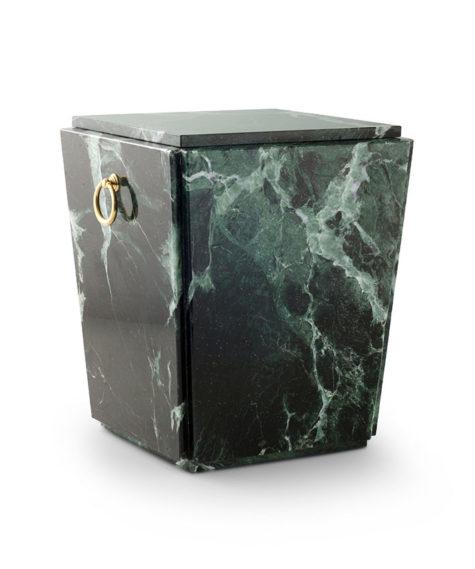 natuurstenen urn trentiner marmer groen (116)