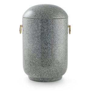 natuurstenen urn grijs chinees graniet (125g)