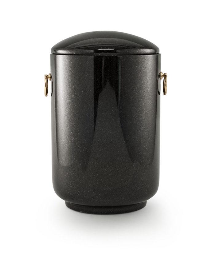 natuurstenen urn indian black graniet (125i)
