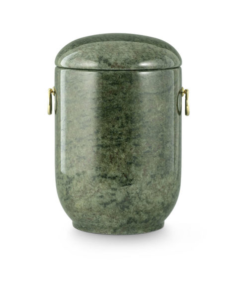 natuurstenen urn kerala green graniet (125t)