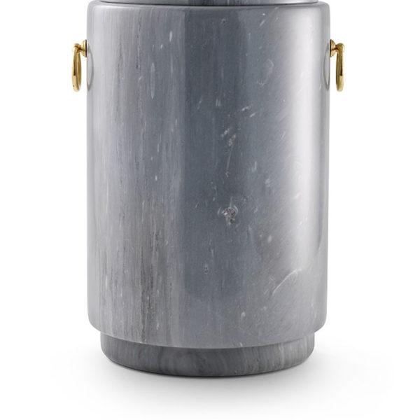 natuurstenen urn grijs marmer (126)