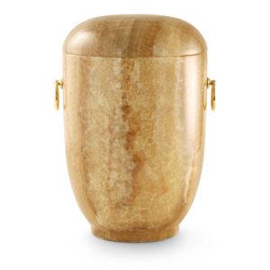 natuurstenen urn onyx honingkleur (132)