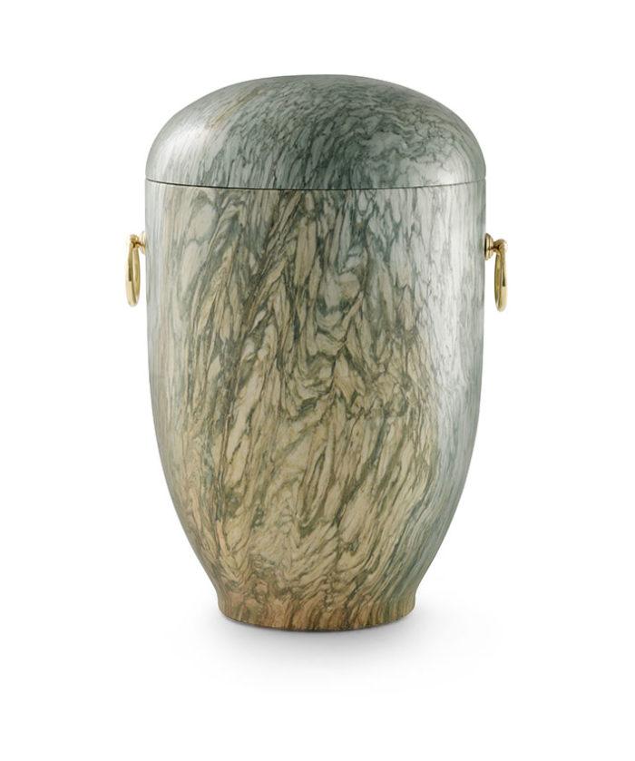 natuurstenen urn jade groen gepolijst (135)
