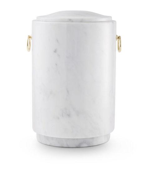 natuurstenen urn wit marmer (136)