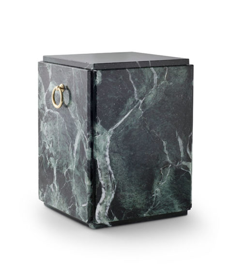 natuurstenen sarcofaag marmer groen zwart(149)