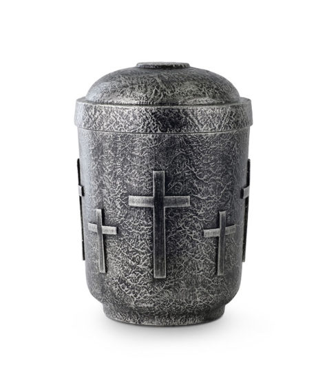 anhydriet urn tin/brons kleur (151)