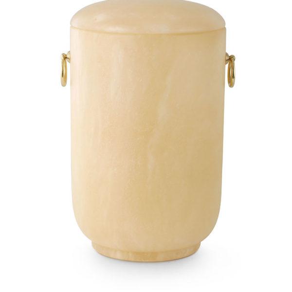 natuurstenen urn albast terra kleur (176)