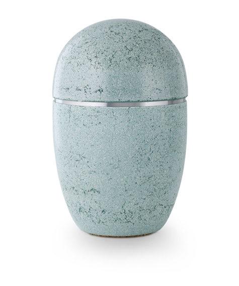 stalen urn in natuursteen beschilderd (182)
