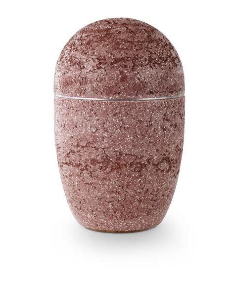 stalen urn in natuursteen beschilderd (183)