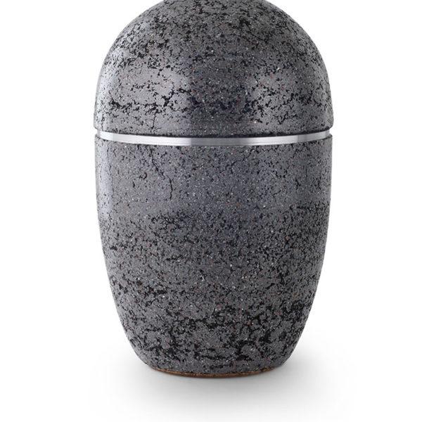 stalen urn in natuursteen beschilderd (184)