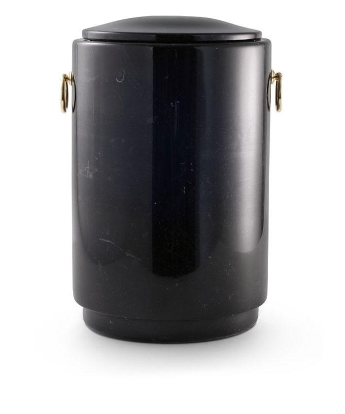 zwart marmeren urn (186)
