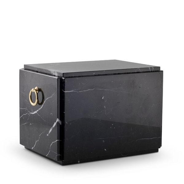 zwart marmeren sarcofaag liggend (189)