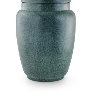 keramische urn groen gepatineerd (5)