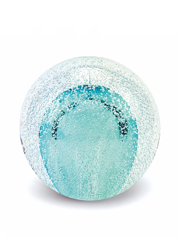 A11STBTTB Stardust bulb transparant Tiffany Blue